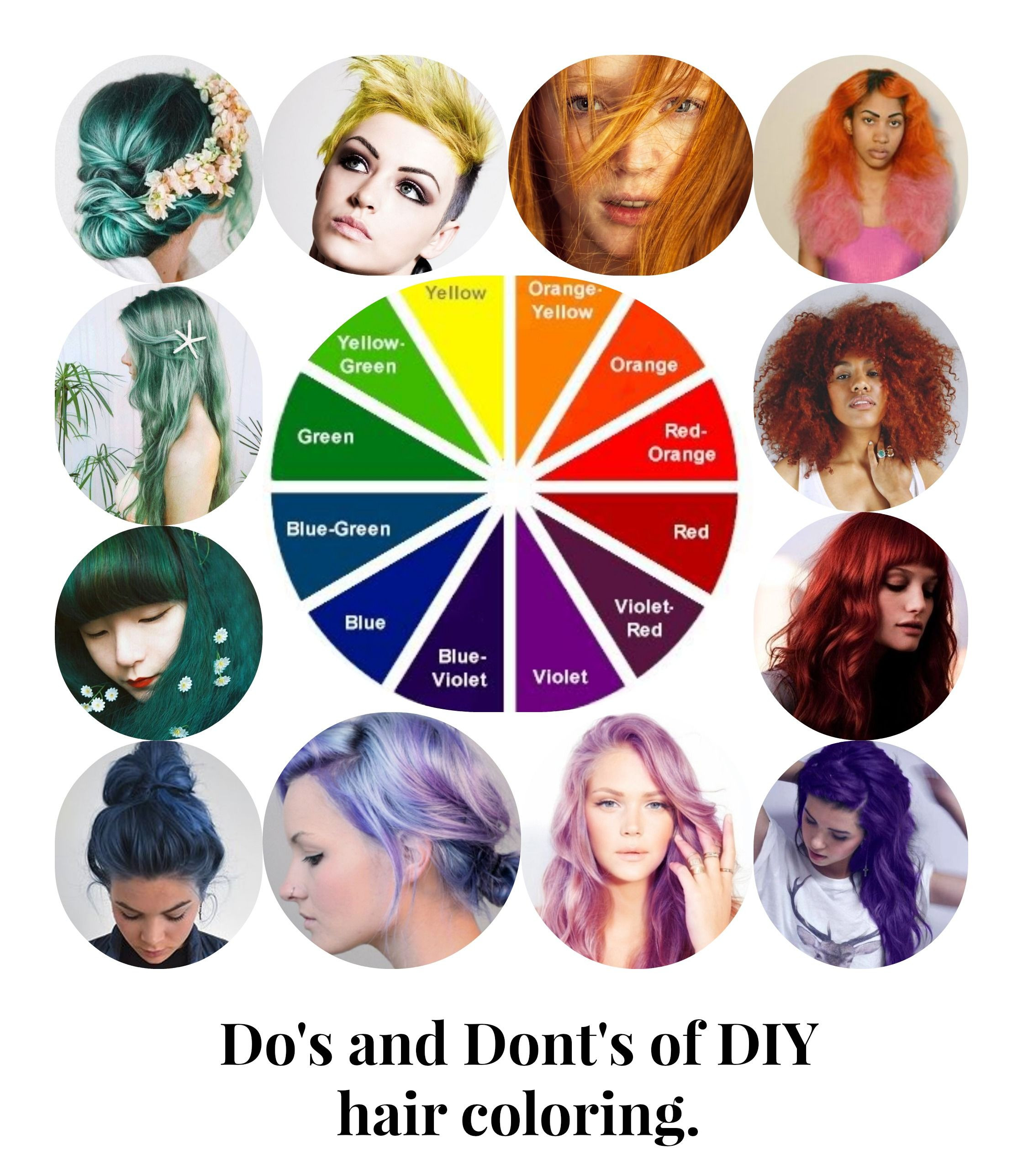 DIY Dyeing Hair  dos and dont s of diy hair coloring coiffe