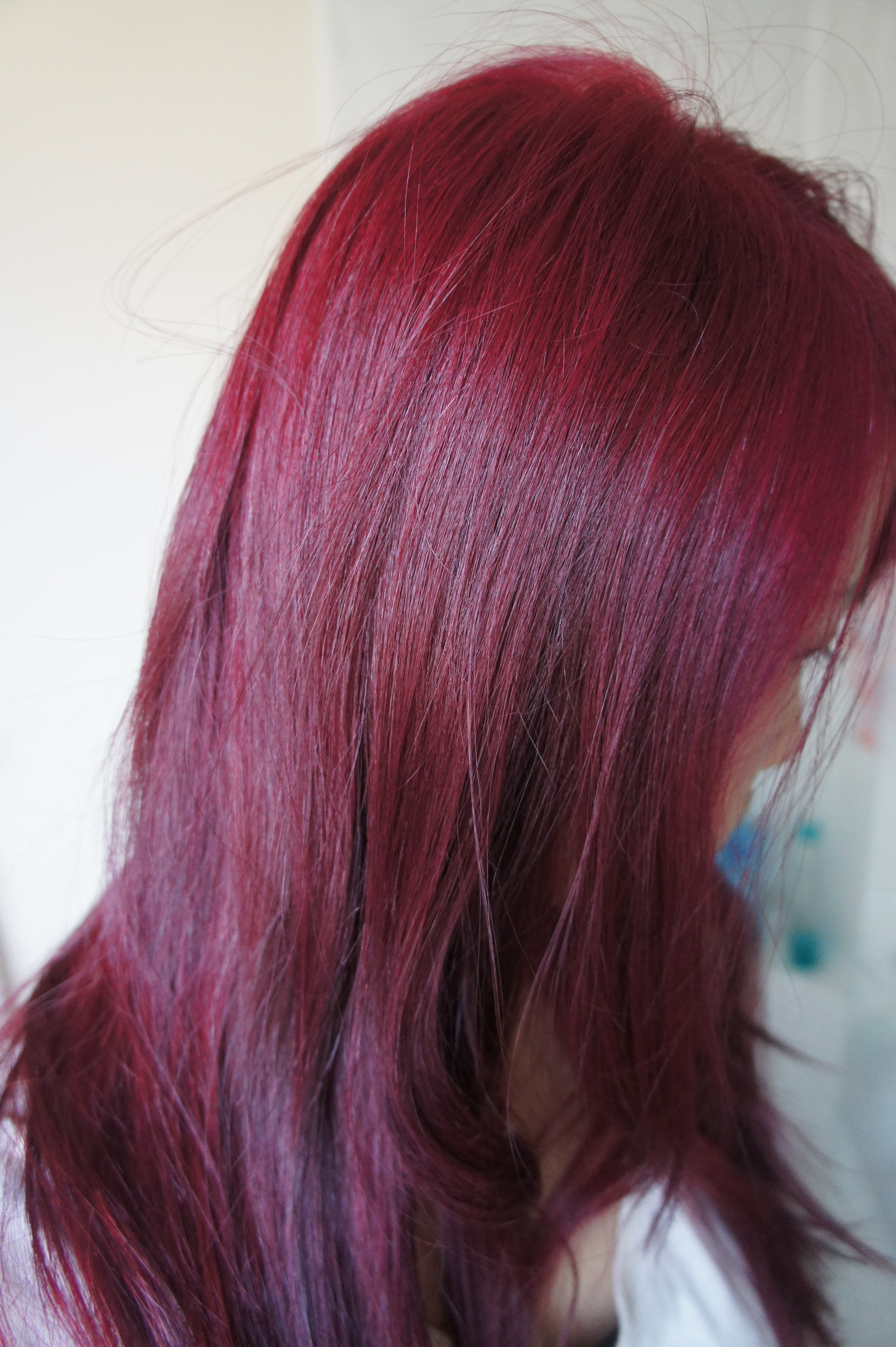 DIY Dyeing Hair  Seeing Red At Home DIY Hair Colouring