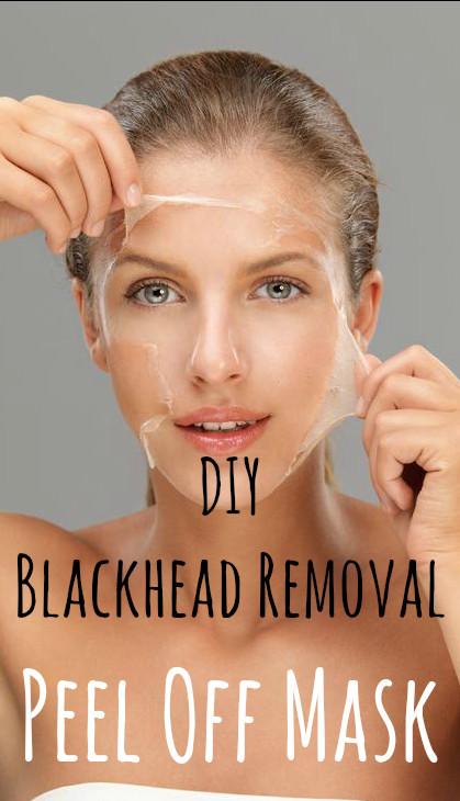 DIY Egg White Peel Off Mask  DIY Blackhead Removal Peel f Mask 1 egg white 1