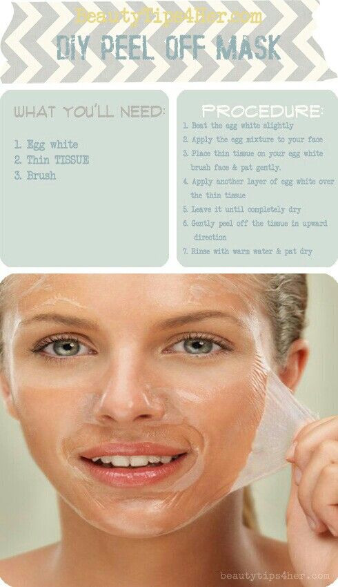 DIY Egg White Peel Off Mask  DIY Peel f Mask Beauty Tips and DIY Reme s