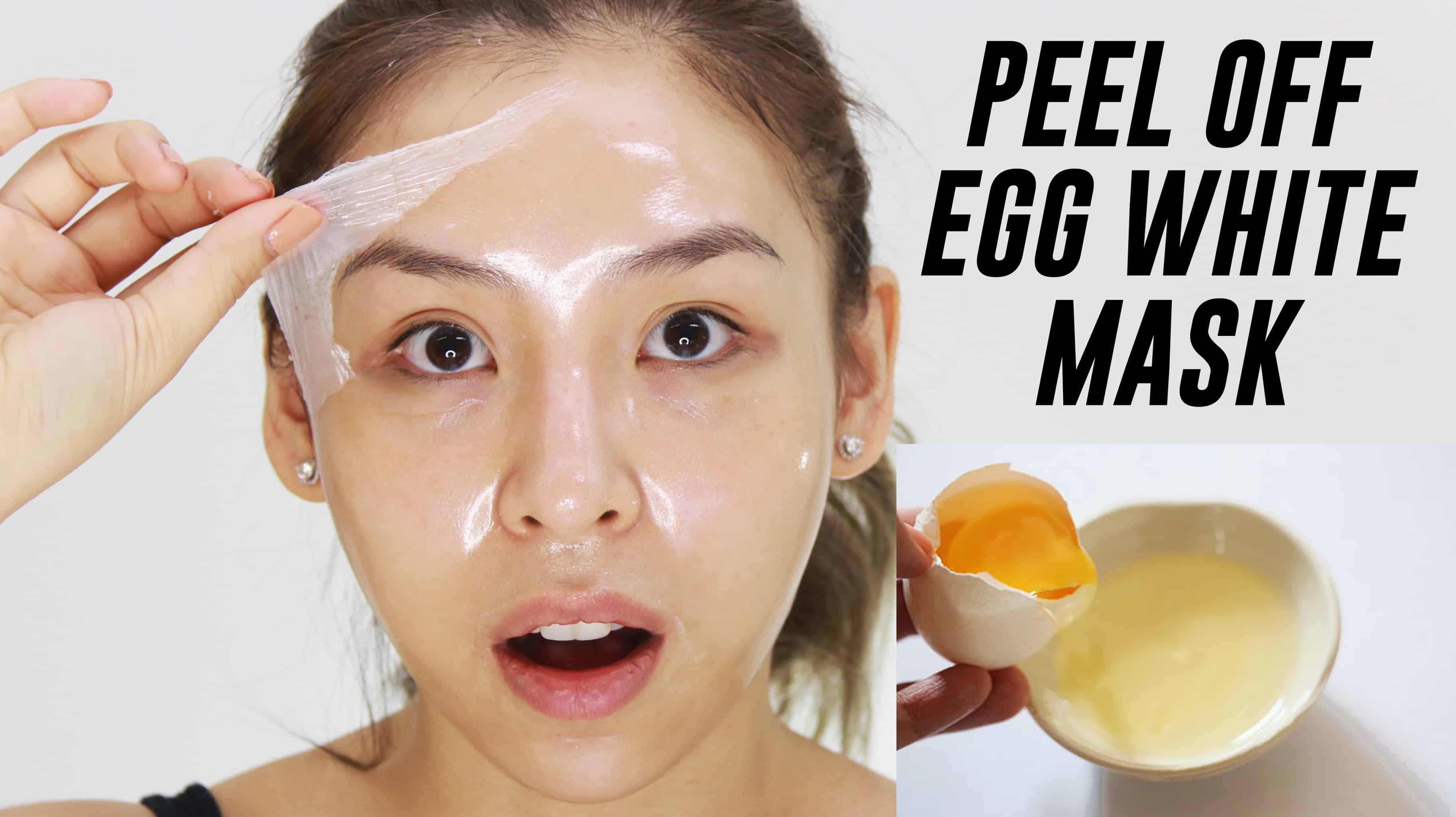 DIY Egg White Peel Off Mask  Efek Samping Memakai Masker Putih Telur Setiap Hari