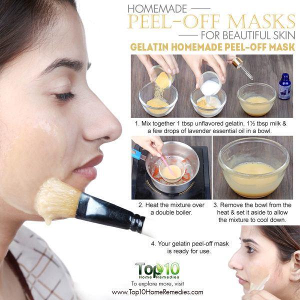 DIY Egg White Peel Off Mask  Homemade Peel f Masks for Glowing Spotless Skin
