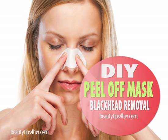 DIY Egg White Peel Off Mask  DIY Peel f Mask Blackhead Removal to Deep Clean Pores