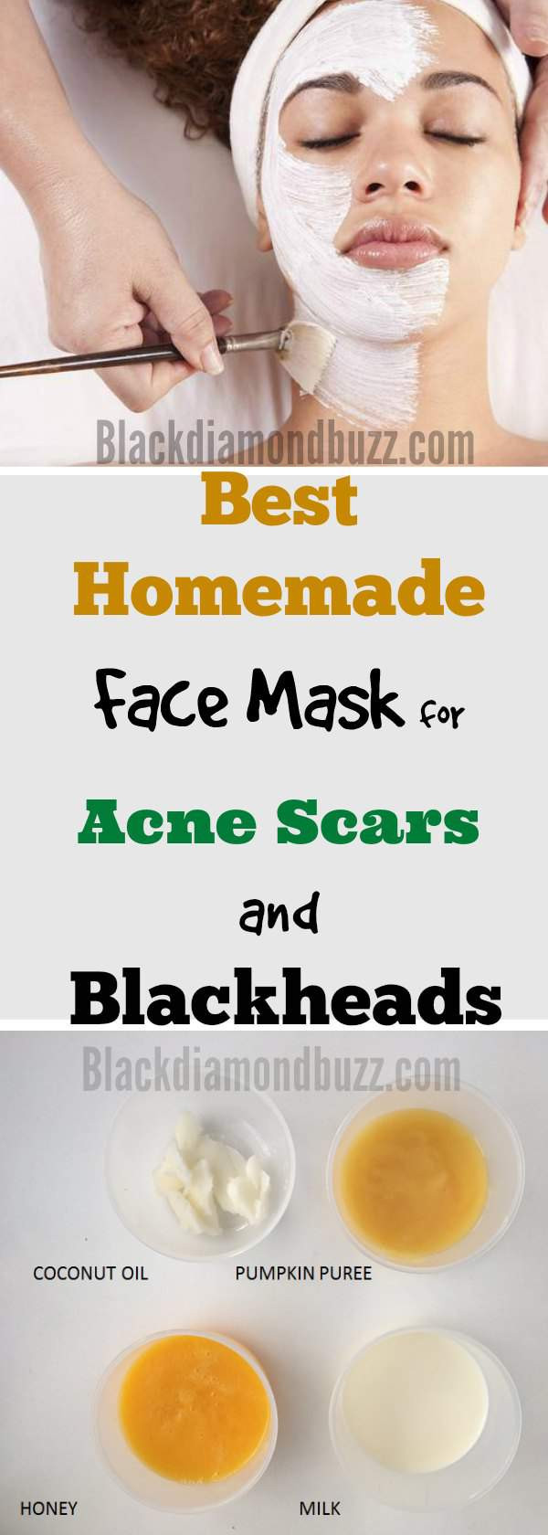 DIY Face Mask For Pimples  Diy Honey Mask For Acne Scars Do It Your Self