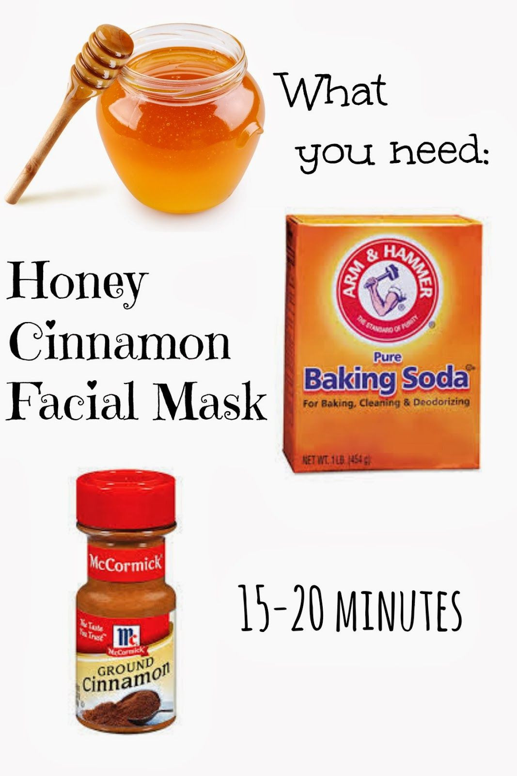 DIY Face Mask For Pimples  Honey Cinnamon Face Mask A Facial You Can Eat