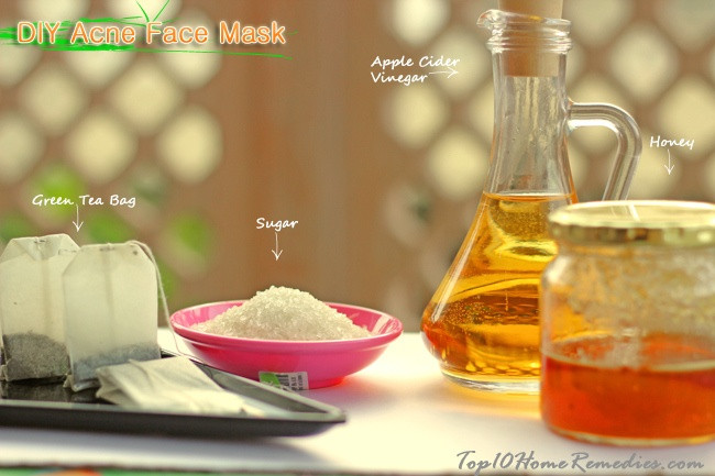DIY Face Mask For Pimples  Top 3 DIY Homemade Acne Face Masks with