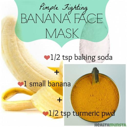 DIY Face Mask For Pimples  DIY Banana Face Mask Recipes for Radiant Skin
