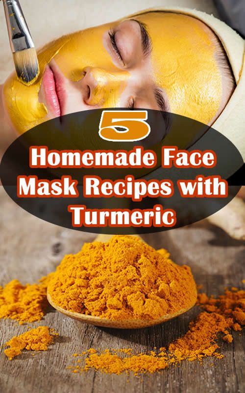 DIY Face Mask Recipe  5 Homemade Face Mask Recipes with Turmeric