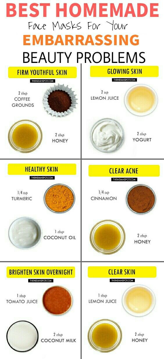 DIY Face Mask Recipe  11 Amazing DIY Hacks For Your Embarrassing Beauty Problems