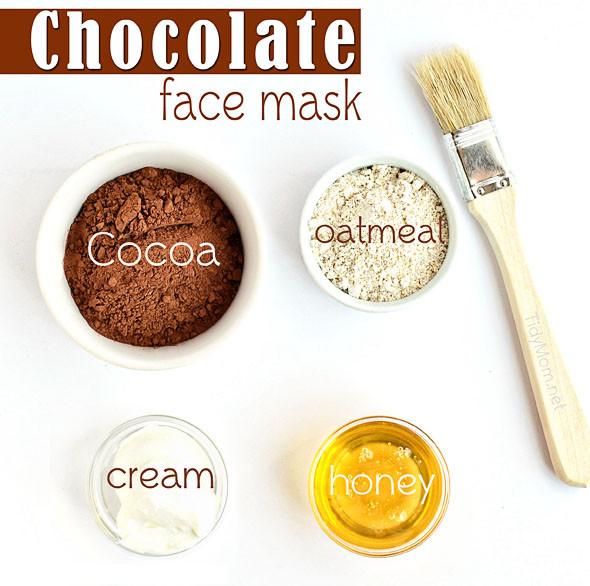 DIY Face Mask Recipe  Chocolate Oatmeal Face Mask