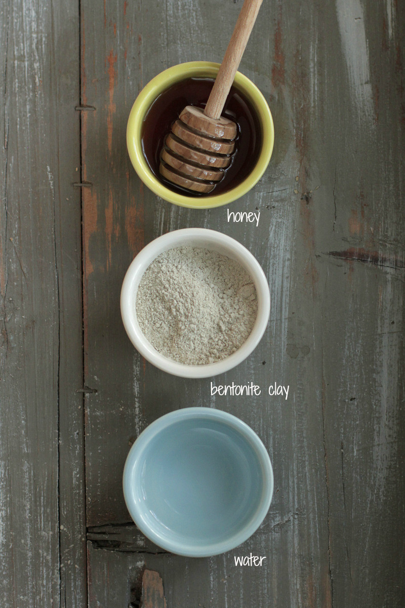 DIY Face Mask Recipe  3 Simple & Quick Homemade Clay Mask Recipes Live Simply