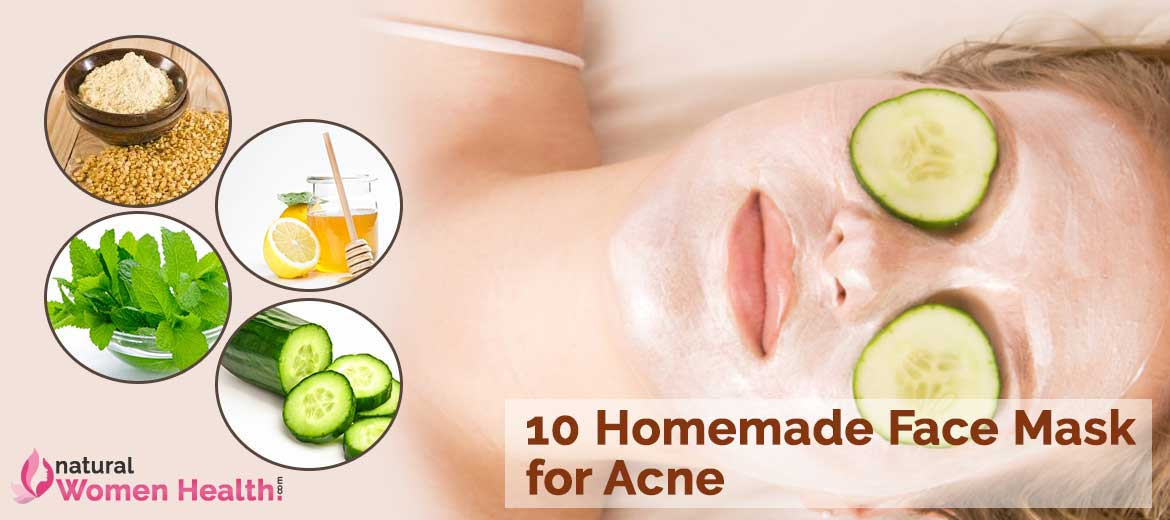 DIY Facemask For Pimples  Homemade Face Pack Recipes Blog
