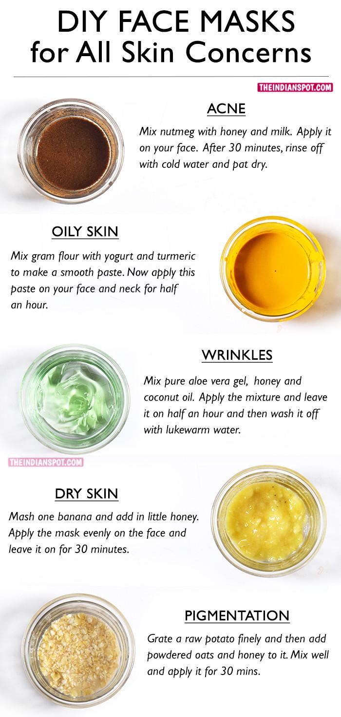 DIY Facemask For Pimples  BEST DIY FACE MASKS FOR YOUR BIGGEST SKIN PROBLEMS – THE