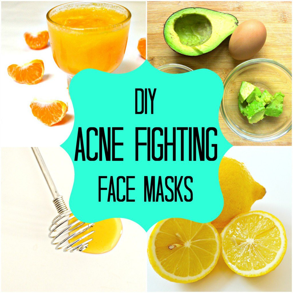 DIY Facemask For Pimples  DIY Natural Homemade Face Masks for Acne Cure