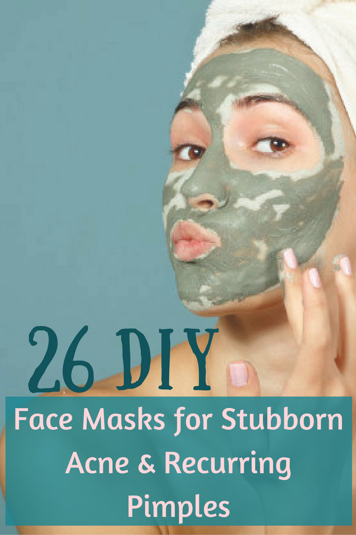 DIY Facemask For Pimples  DIY Face Masks for Acne And Pimples