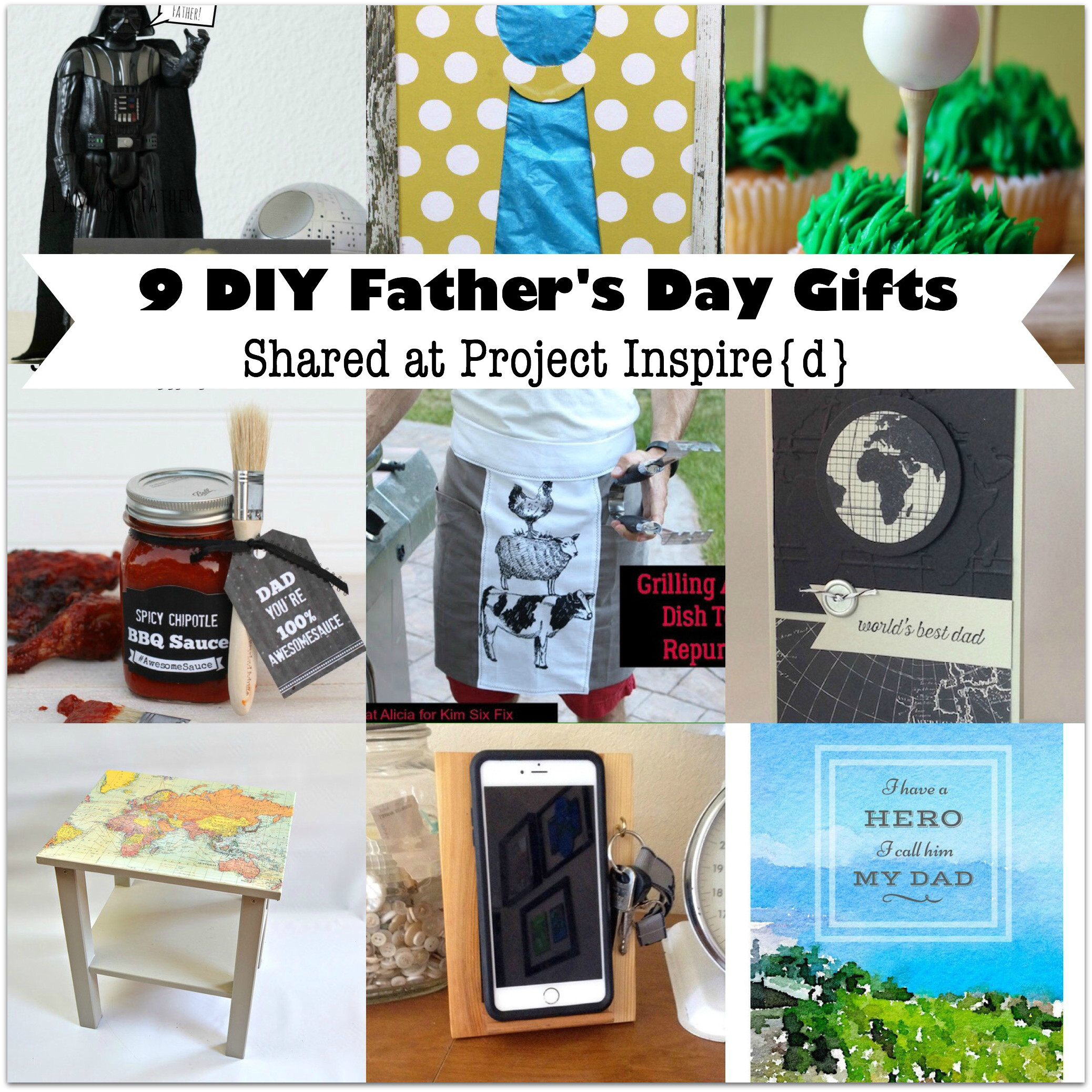 Diy Father'S Day Gift Ideas  9 DIY Father s Day Gift Ideas