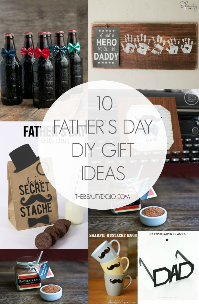 Diy Father'S Day Gift Ideas  10 Father s Day DIY Gift Ideas The Beautydojo