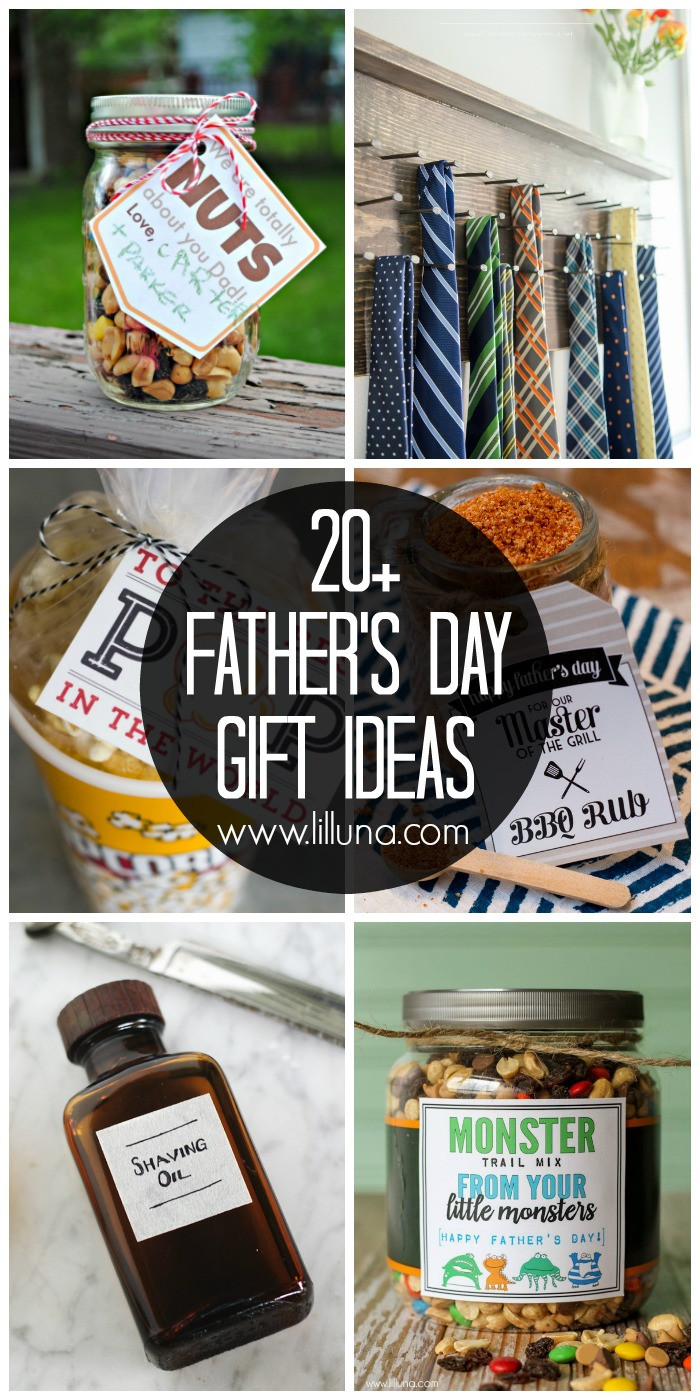Diy Father'S Day Gift Ideas  20 DIY Father s Day Gift Ideas Lil Luna