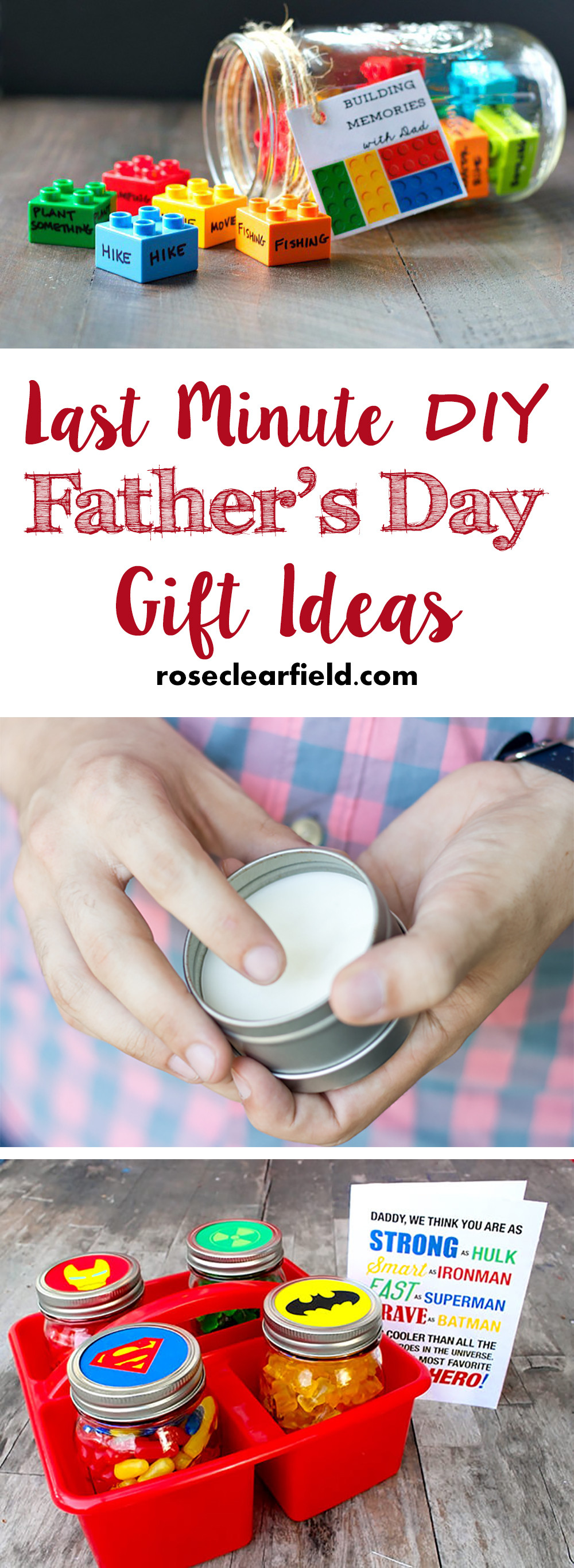 Diy Father'S Day Gift Ideas  Last Minute DIY Father s Day Gift Ideas • Rose Clearfield