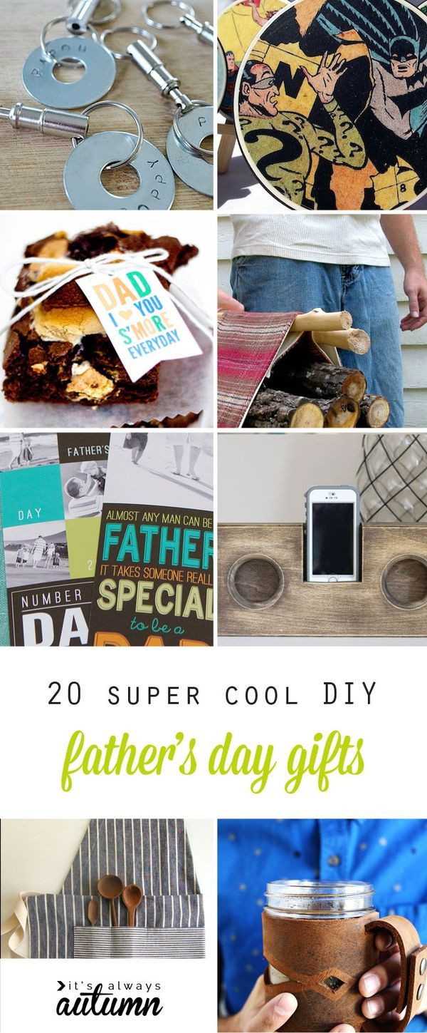 Diy Father'S Day Gift Ideas  20 super cool handmade Father s Day Gifts DIY for Dad