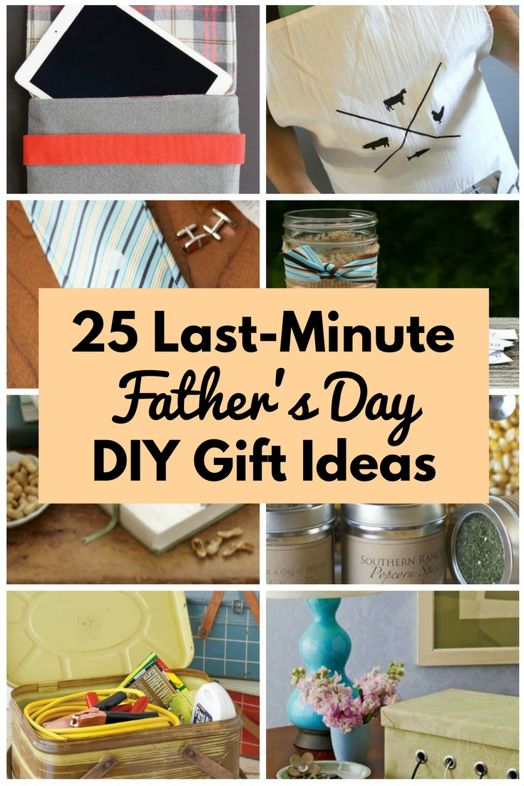 Diy Father'S Day Gift Ideas  25 Last Minute Father s Day DIY Gift Ideas The Bud Diet