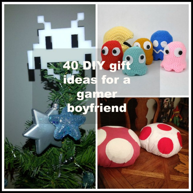 Diy Gift Ideas For Girlfriend  40 DIY Gift Surprise Ideas for a Gamer Boyfriend or Girlfriend