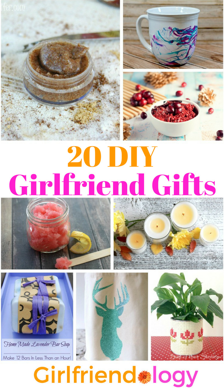 Diy Gift Ideas For Girlfriend  20 DIY Girlfriend Gifts Handmade Gifts for Women