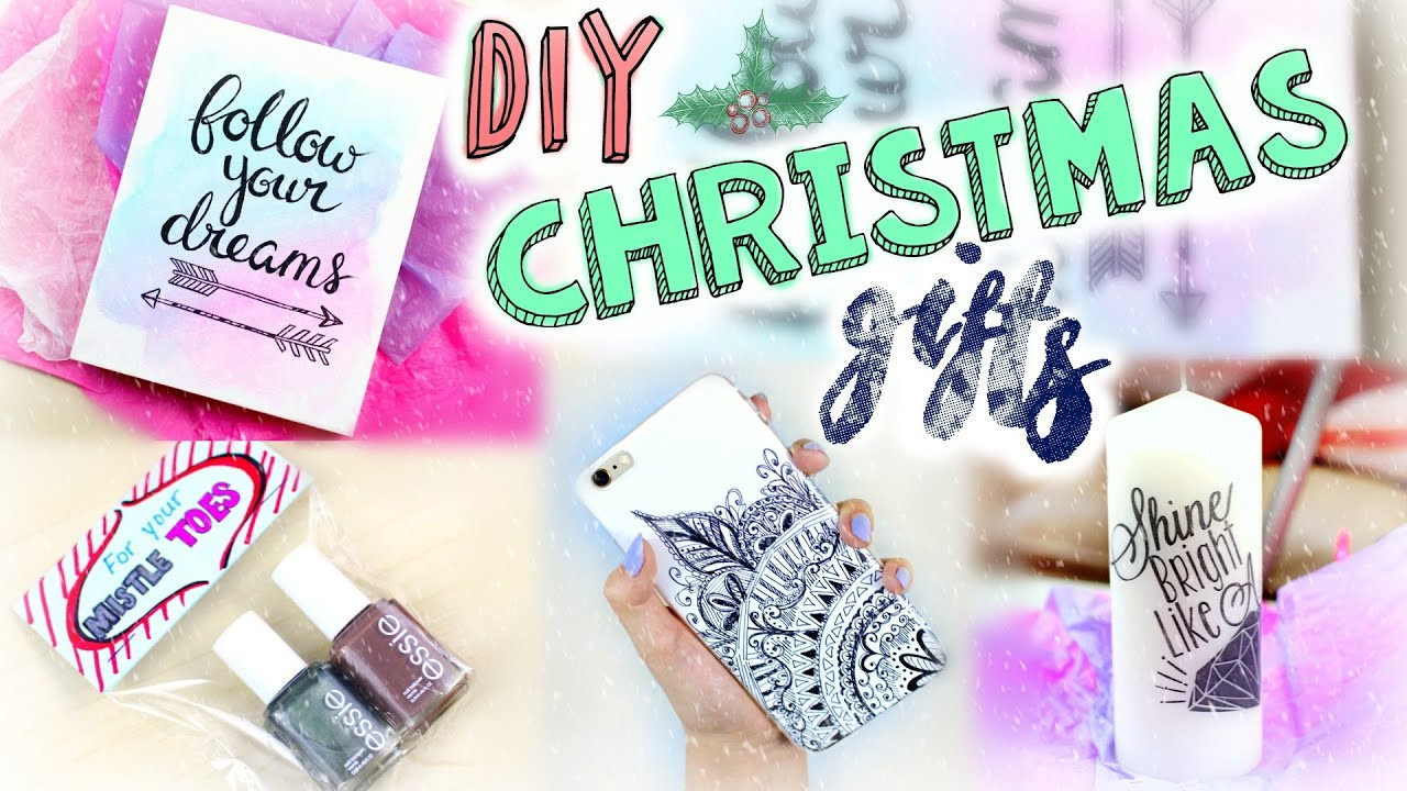 DIY Gifts For Parents  DIY Easy Christmas Gifts