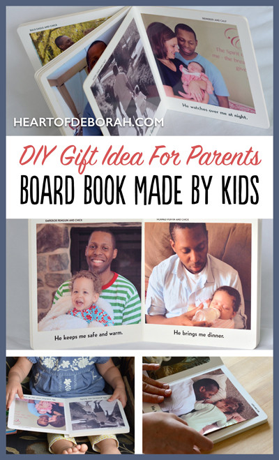 DIY Gifts For Parents  DIY Gift Idea For Parents From Kids Heart of Deborah