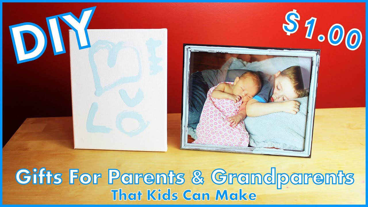 DIY Gifts For Parents  DIY Gifts For Parents & Grandparents That Kids Can Make