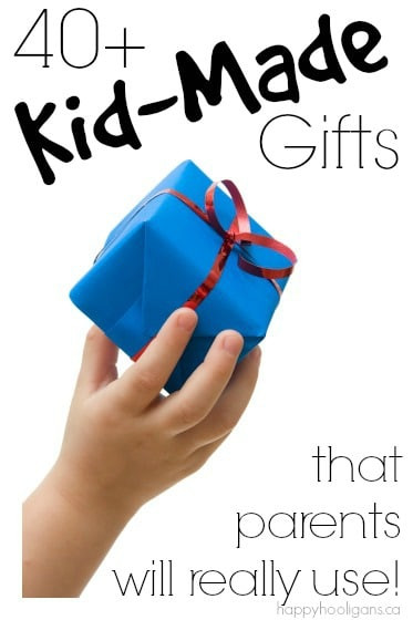 DIY Gifts For Parents  40 Gifts Kids Can Make that Grown Ups will Really Use