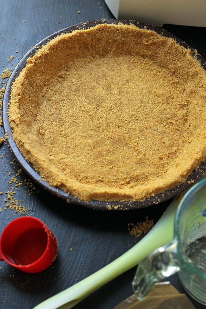 DIY Graham Cracker Crust  Homemade Graham Cracker Crust Good Cheap Eats