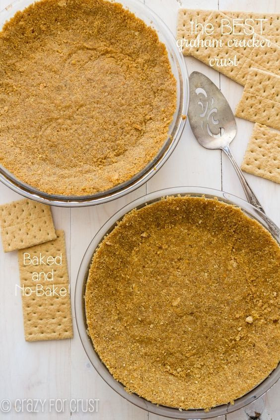 DIY Graham Cracker Crust  Best 25 Graham cracker crust ideas on Pinterest