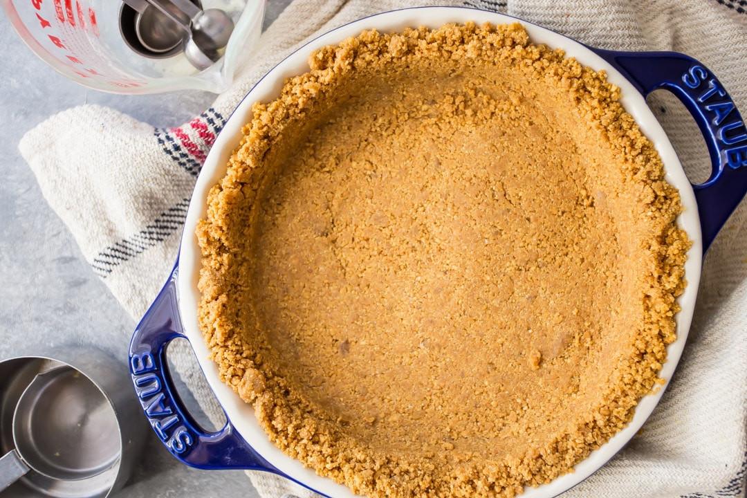 DIY Graham Cracker Crust  Perfect Homemade Graham Cracker Crust Baking a Moment
