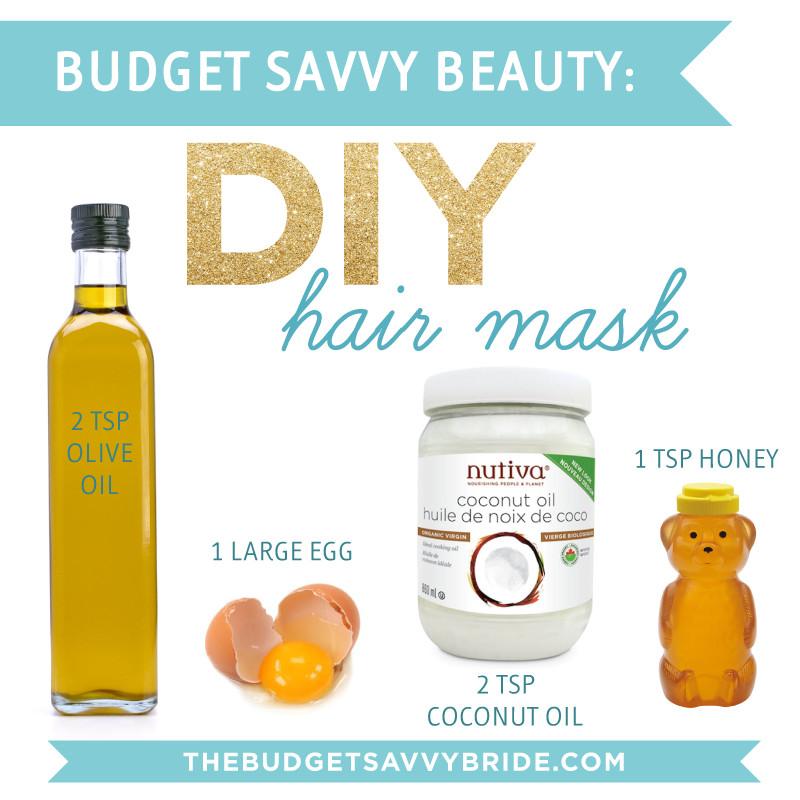 DIY Hair Mask  25 Coconut Oil Hair Masks