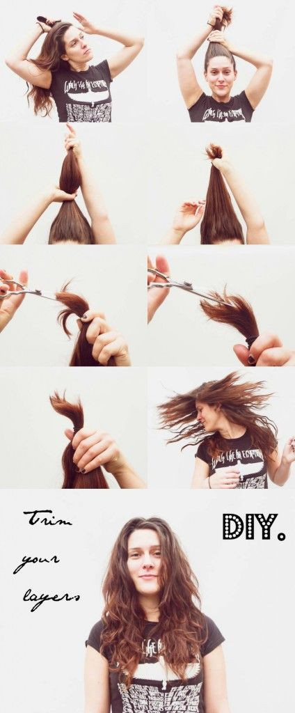 DIY Hair Trim  How To Cut Your Own Layers