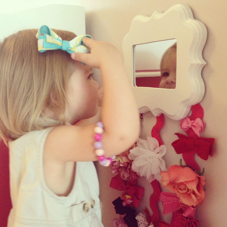 DIY Hairbow Holder  Hair Bow Holder