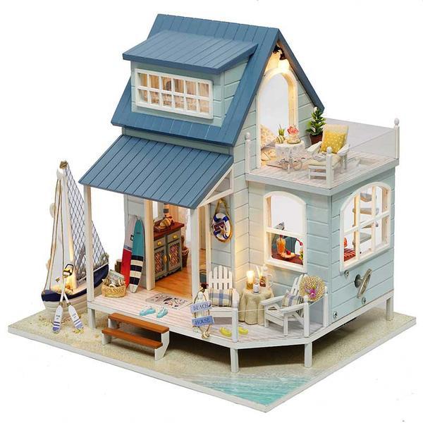 DIY Home Kit  Caribbean Sea DIY Miniature House Kit – Michu Things