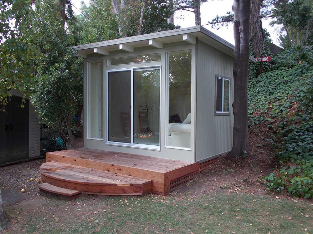DIY Home Kit  9 Sources for midcentury modern sheds prefab DIY kits