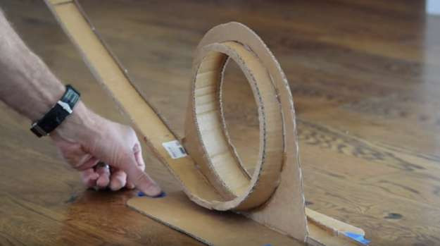 DIY Hot Wheels Track  How to Build A Hot Wheels Race Track DIY Projects Craft