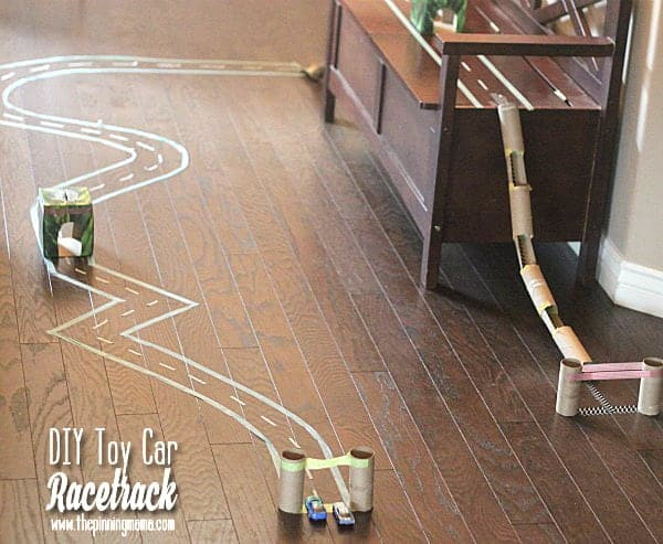DIY Hot Wheels Track  DIY Toy Car Race Track Creative Play Learn to Recycle