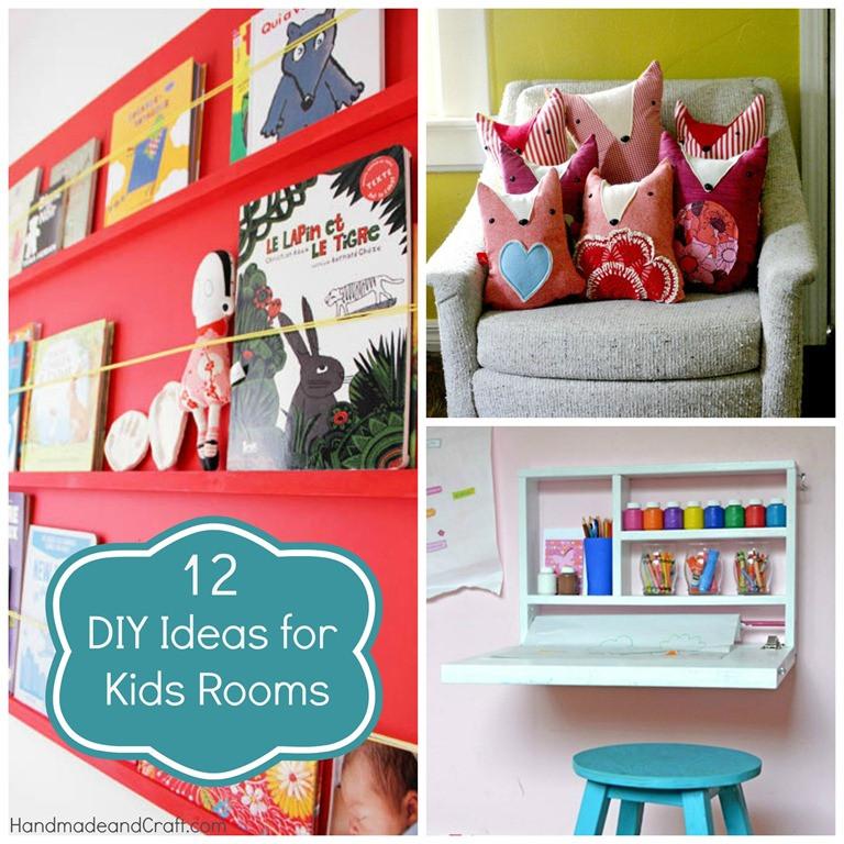 DIY Ideas For Kids  12 DIY Ideas for Kids Rooms DIY Home Decor