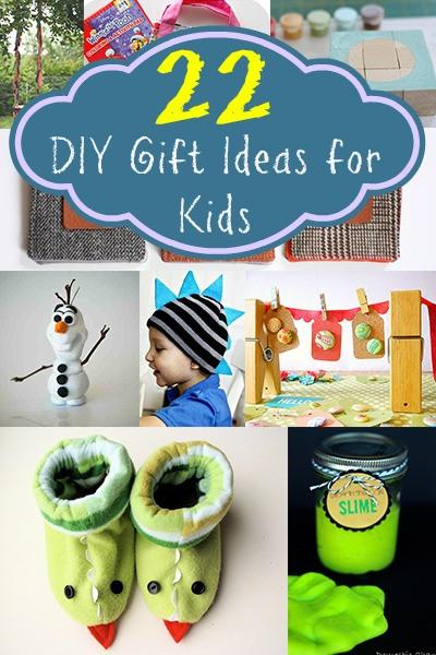 DIY Ideas For Kids  22 DIY Gift Ideas for Kids