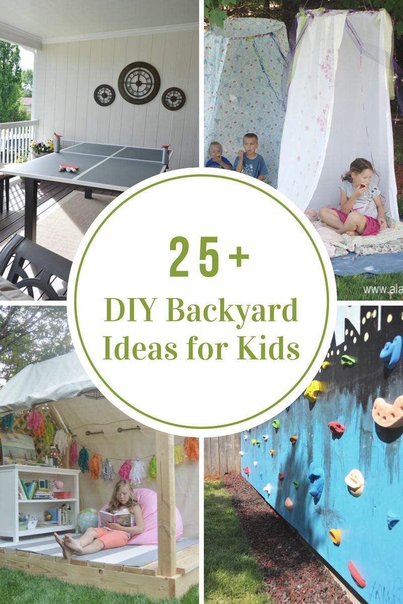 DIY Ideas For Kids  DIY Backyard Games The Idea Room