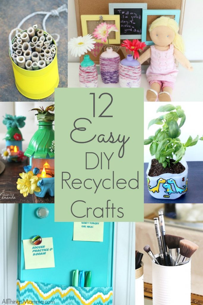 DIY Kids Project  DIY Recycled Bottle Flower Vase Craft All Things Mamma