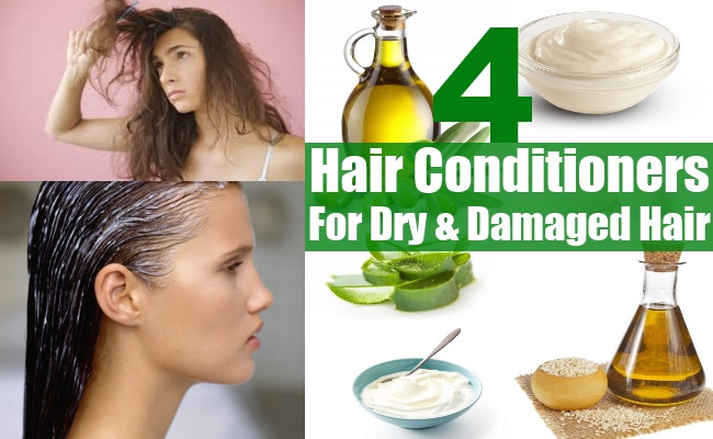 DIY Leave In Conditioner For Damaged Hair  4 Homemade Hair Conditioners For Dry And Damaged Hair