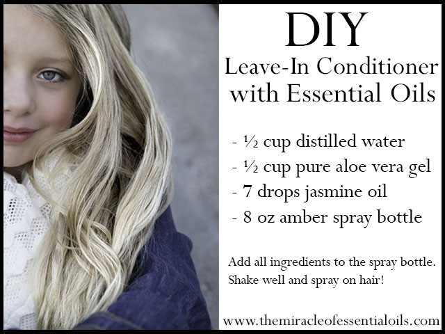 DIY Leave In Conditioner For Damaged Hair  DIY Essential Oil Leave In Hair Conditioner – Spray Recipe