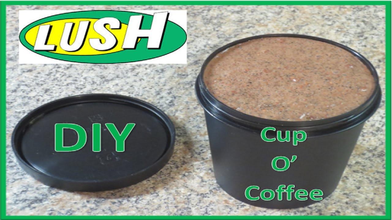 DIY Lush Face Mask  DIY LUSH Cup O Coffee Face Mask