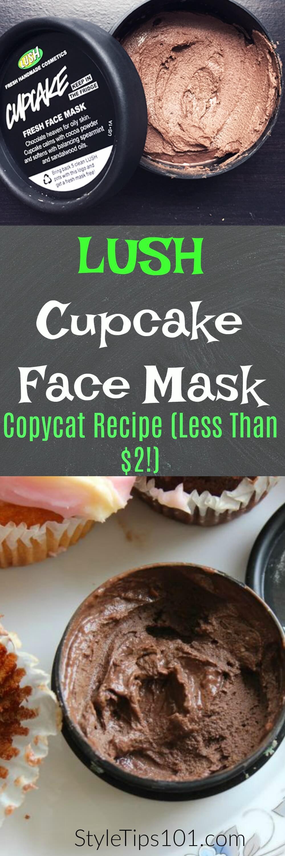 DIY Lush Face Mask  DIY Lush Cupcake Face Mask Dupe