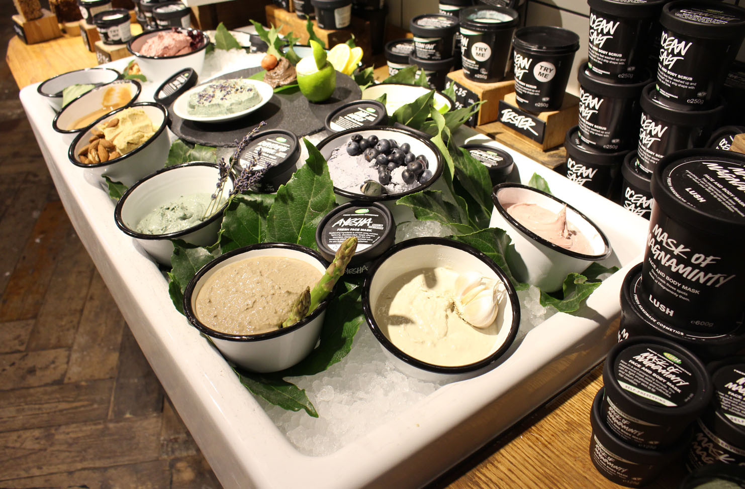 DIY Lush Face Mask  My Visit to Lush Oxford Street Fashion & Beauty Blog for